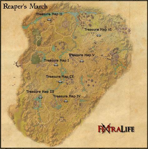 s march reaper s march treasure map v elder scrolls wiki