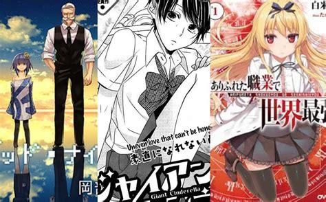 popular mangas top 10 best new in 2016