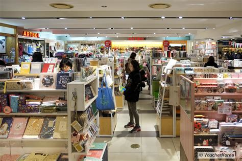 bookstore sections list voucherkorea kyobo bookstore the largest bookstore in