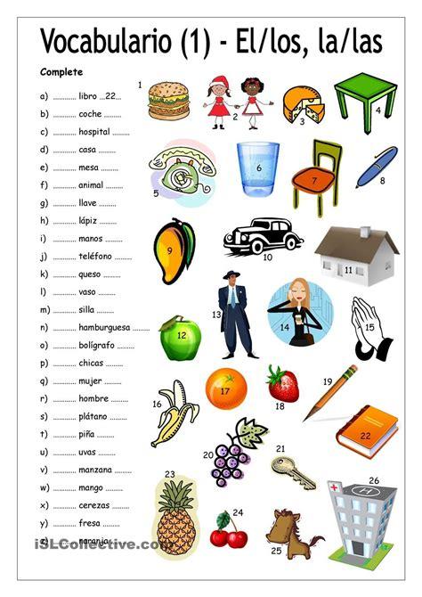 libro de decimo ao de ingles con las respuestas del 2016 vocabulario 1 complete con el los la las art 205 culos def