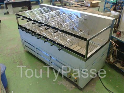 Grill Professionnel Charbon by Churrasqueira Gaz Charbon Barbecue Gril Inox Pro