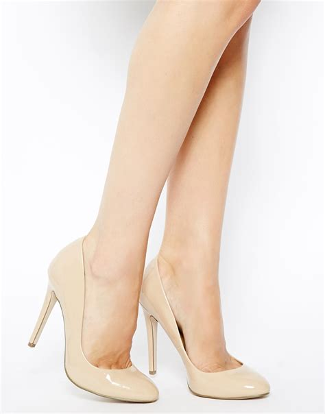 how high are high heels asos panorama high heels in lyst