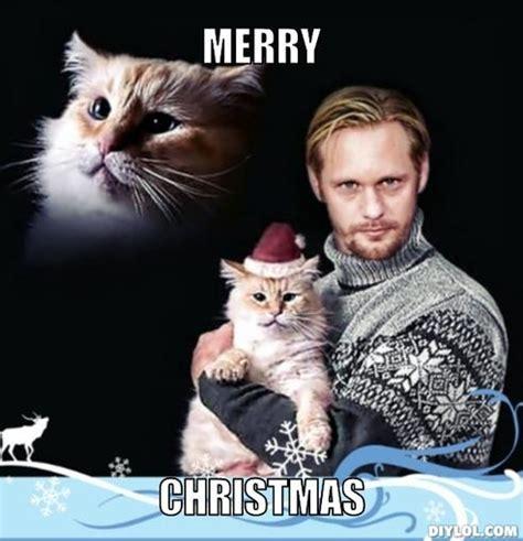 meme monday vampire eric   catin  christmas hat  collective