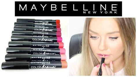 Lip Pencil Maybelline maybelline color drama velvet lip pencils