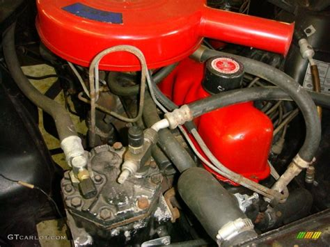 1965 ford mustang coupe 200 c i inline 6 cylinder engine
