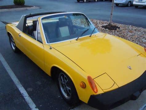 porsche 914 yellow seller of classic cars 1976 porsche 914 sunflower