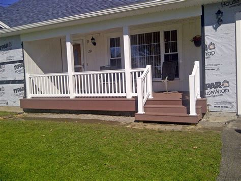 How To Install Pvc Decking by Vinyl Railing Installation Poly Enterprises