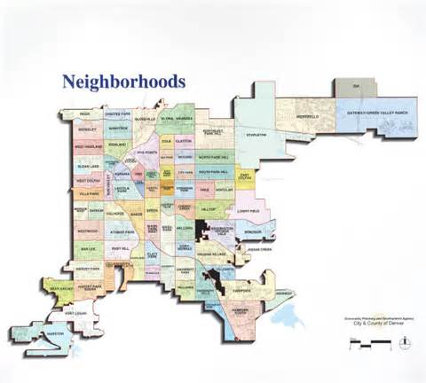 Neighborhoods In Denver Neighborhoods