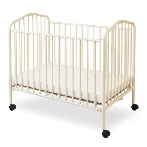 la baby compact metal folding crib walmartcom walmartcom