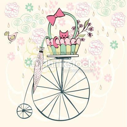 imagenes vintage bebes ilustra 231 245 es bicicletas com flores pinterest pesquisa