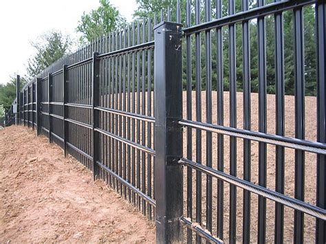 stalwart is anti ram barrier with high security fence