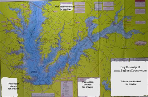 map of lake fork texas lake fork fishing topographical map