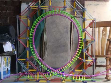 How To Make A Roller Coaster Loop Out Of Paper - knex roller coaster loop