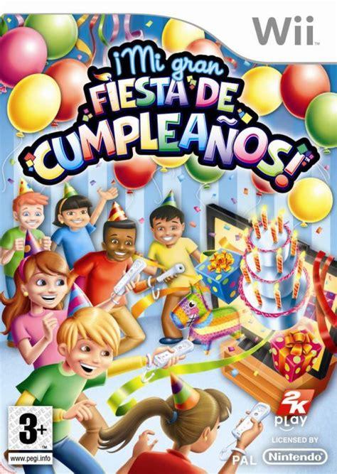 imagenes de cumpleaños fiesta mi gran fiesta de cumplea 209 os wii imagen 351997