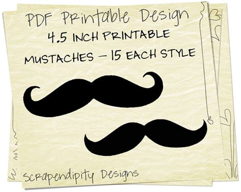 free printable mustache party decorations unavailable listing on etsy