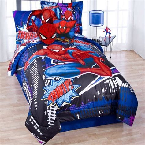 spiderman twin bed set spiderman kids bedding and decor ideas webnuggetz com