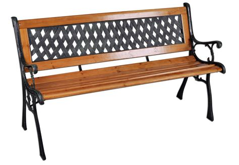 3 seater wooden bench bentley garden 3 seater wooden outdoor bench with lattice