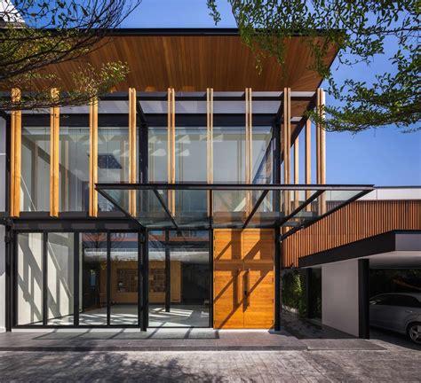 inspirasi desain fasad  denah rumah modern arsitektur arsitekturme