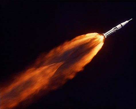 saturn 1b launch apollo 7 saturn 1b rocket launch photo print for sale