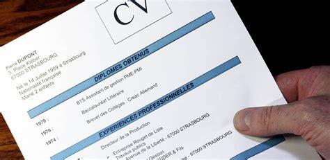 sle cv le cv passeport pour l emploi vocation service