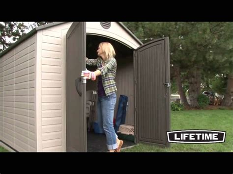 1000 images about lifetime storage sheds on