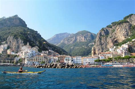 amalfi coast sorrento peninsula italy 1 50 000 hiking map gps precise waterproof kompass books guided kayak tours along the amalfi coast sorrento