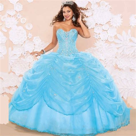 Blue Baby Dress popular baby blue quinceanera dresses buy cheap baby blue