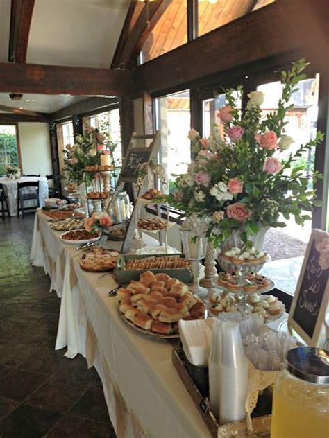 Wedding Food Buffet Tables Nob Hill Design   Celebrate
