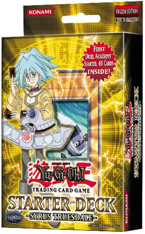 yugioh starter deck starter deck syrus truesdale yugioh card prices