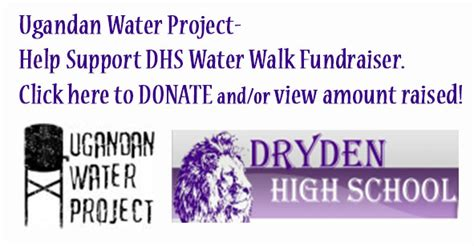 Hilary Helps Kickoff Clean Water Fundraiser by Dryden High School Water Project