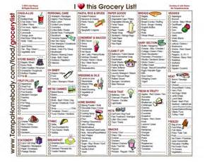 grocery list template by category grocery list cleaning organization
