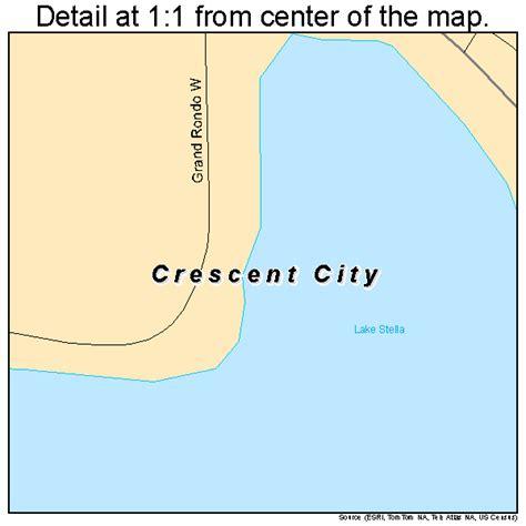 crescent florida map crescent city florida map 1215375