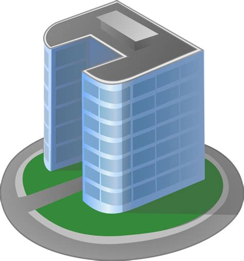 Townhouse Or House Clipart Tower