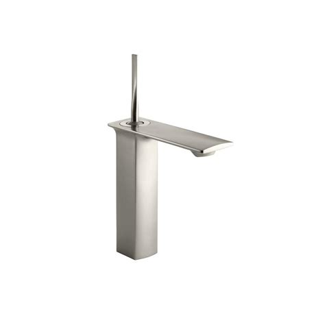 kohler single hole bathroom faucet kohler alteo single hole single handle mid arc water