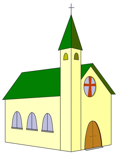 church clipart portfolio