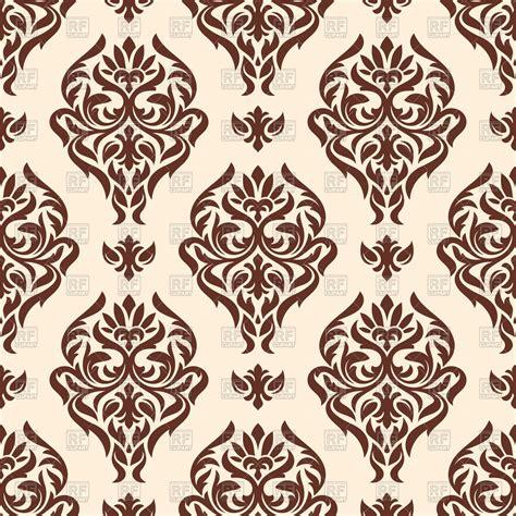 modern classic wallpaper texture seamless classic damask wallpaper royalty free vector clip