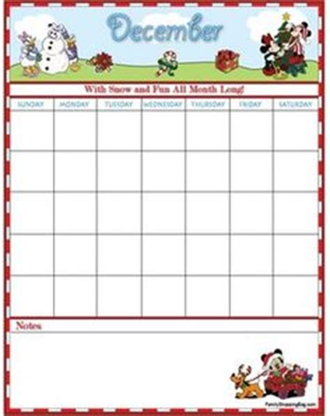 Minnie Mouse Printable Calendar