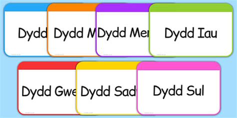 printable welsh alphabet flash cards common worksheets 187 days of the week printables