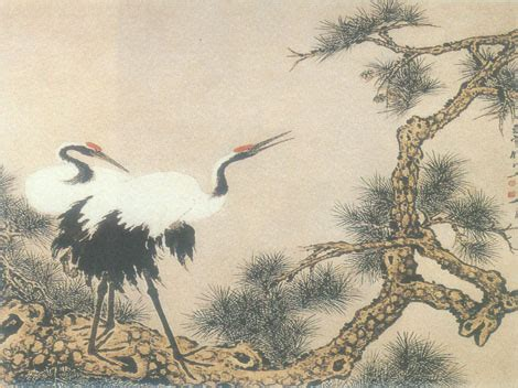 crane painting crane painting study in top china