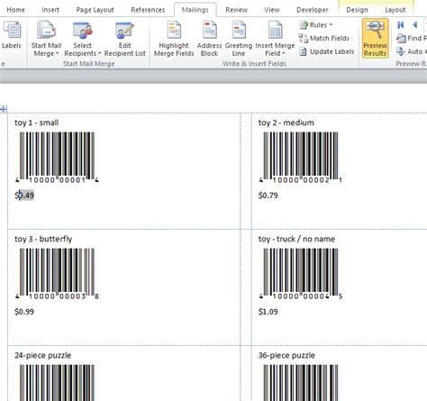 tutorial design label information