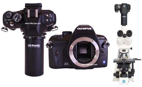 Kamera Olympus E420 einsatz der digitalen spiegelreflexkameras olympus e 420 in der mikroskopie