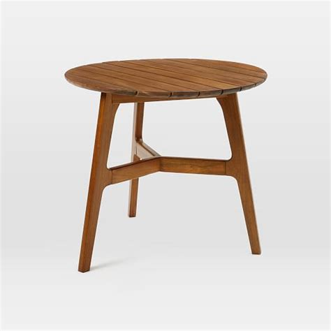 Mid Century Bistro Table Mid Century Bistro Table Auburn West Elm