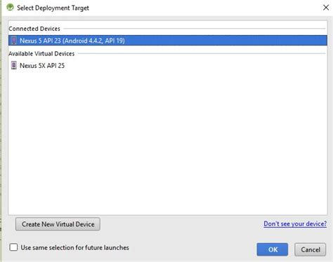 reset android studio android studio has issue with detecting device api stack