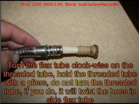 how to fix your shower hose