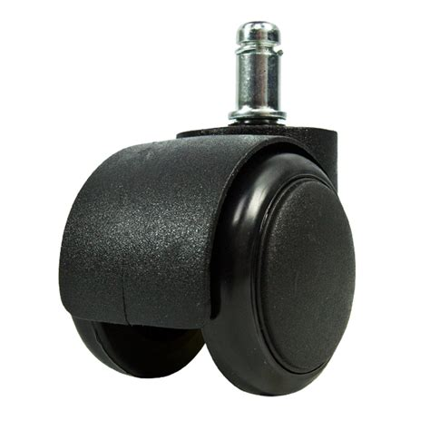 Replacement Casters For Office Chairs 5 Black Office Chair Caster Soft Wheel Swivel Rubber Home