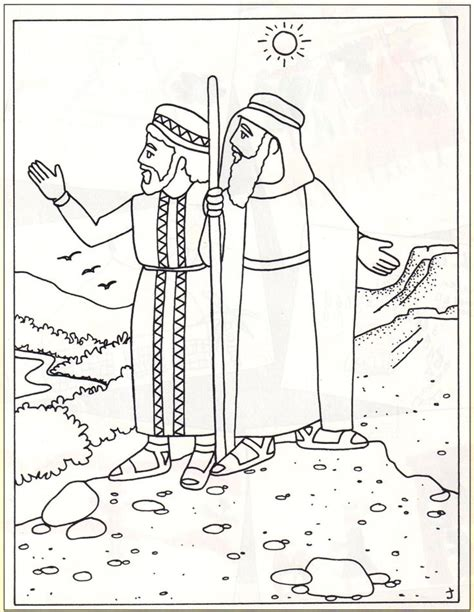 coloring page of abraham and lot 57 best images about bijbel abraham on pinterest