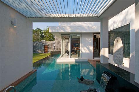 minimalist bungalow  india idesignarch interior