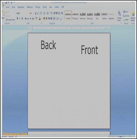 Word Templates For Note Cards Docs by 8 Blank Greeting Card Template Microsoft Word
