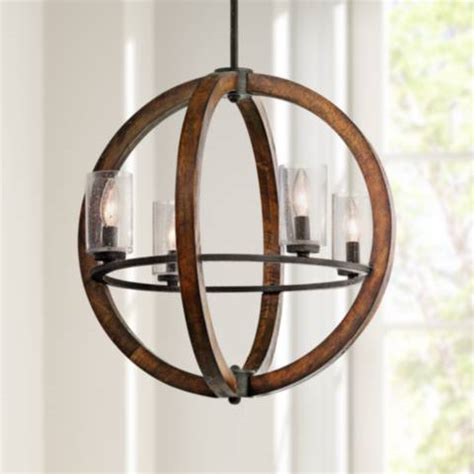 kichler 43755aub cirus modern auburn stained mini hanging kichler grand bank 20 quot wide 4 light auburn stained pendant