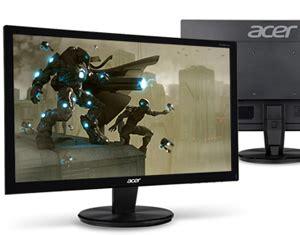 Monitor Led Second Jakarta acer g206hql led monitor 19 5 inch jakartanotebook